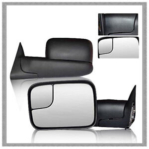 Fit For 1998 2001 Dodge Ram 1500 98 02 Dodge Ram 2500 3500 Tow Side View Mirrors