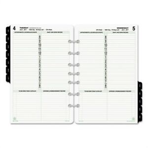 Dated One page per day Organizer Refill January december 5 1 2 X 8 1 2 2018