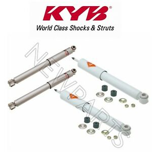 Set Of Front Rear Suspension Shock Abrosbers Kit Kyb For Suzuki Samurai 86 95