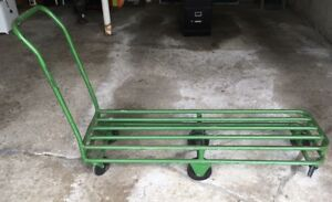 Heavy Duty Metal Flat Hand Truck By Dillon Equipment Co Of Texas Dollie Cart