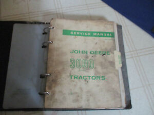 John Deere 3020 Tractor Hi crop Orchard Utility Service Repair Manual