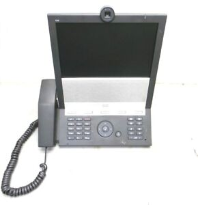 Cisco Tandberg E 20 Ip Video Conference Phone Ttc7 16 10 6 Color Lcd