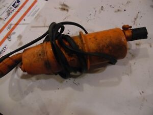 1964 Allis Chalmers D 15 Gas Farm Tractor Block Heater