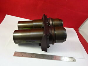 Brass Mounted Lenses Aus Jena Zeiss Germany Optics Microscope Part As Is 93 13