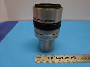 Bausch Lomb Eyepiece Ocular Stereo 537034 Optics Microscope Parts As Is