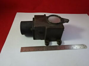 Microscope Part Bausch Lomb Assembly Mirror Illuminator Optics As Is