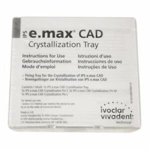 Ivoclar Vivadent Ips E max Cad Crystallization Tray Pins 605367 An
