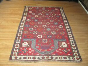 Anique Caucasian Shirvan Kazak Kuba Prayer Rug