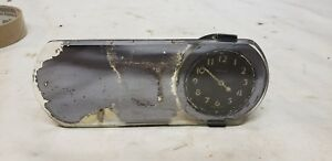 Westclox Rearview Mirror Accessory Clock 1934 1935 1936 1937 1938 1939 Ford Chev
