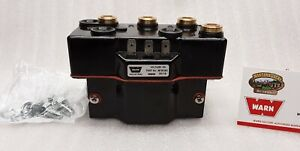 Warn 34971 Industrial Winch Contactor 12v Triple Coil