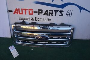 2007 2014 Ford Expedition Front Bumper Grille Oem Ue79271 07 14