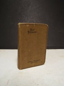 1917 Wwi Pocket New Testament American Bible Society