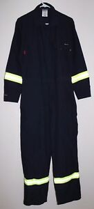 Men s Size 40r Workrite Fr Flame Resistant 6 Oz Nomex Llla Coverall 110nx60 Nb