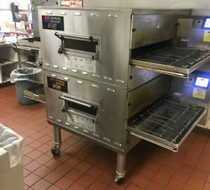 Middleby Marshall 2016 Wow Ps840g Double Deck Conveyor Pizza Ovens ps640g