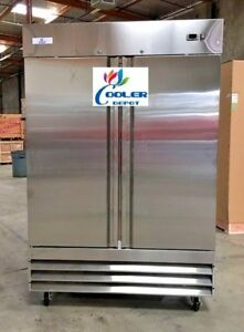 New Two Door Freezer commercial Reach In Stainless Steel Freezer Cfd 2ff Nsf