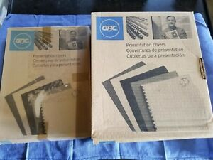 Gbc Regency Presentation Binding Cover 8 75 X 11 25 Black Clear
