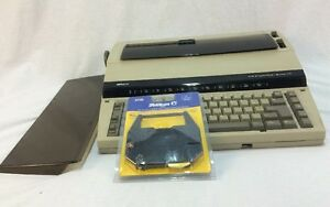 Sears Typewriter The Electronic Scholar Model 161 Working Condition