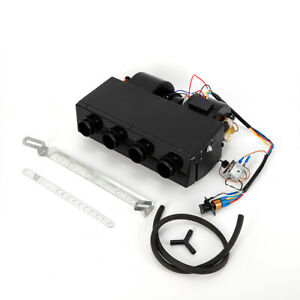 New Universal Underdash 12v A c Evaporator Heater Unit Heat Cool Us Shipping
