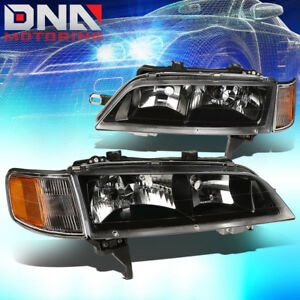 For 94 97 Accord Cd Black Housing Headlight amber Cornering Lamp Oe Replacement