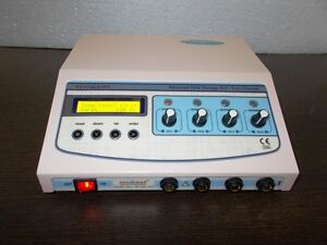 Electrical Electrotherapy 4 Channel Physical Relief Lcd C Pulse Massager Unit F