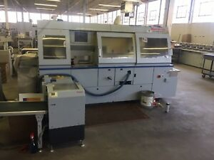 Horizon Perfect Binding Line automated Setup With 3 Knife Trimmer