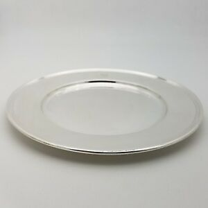 Tiffany Co Makers Sterling Silver 6 5 In Cookie Saucer Bread Charger Plate