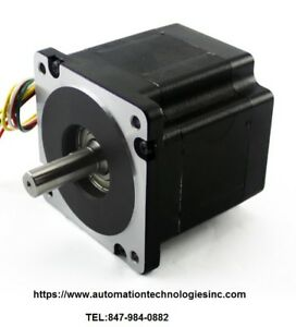 1pc Nema34 Stepper Motor 906 Oz In 6 1a Dual Shaft kl34h295 43 8b