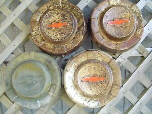 Chevy Chevrolet Suburban Cameo Pickup Truck Hubcaps Wheel Covers Center Caps