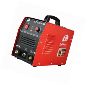 Lotos Lt5000d Plasma Cutter 50amps Dual Voltage Compact Metal 110 220v Ac 1 2 C