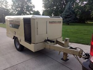 Ingersoll Rand Industrial Air Compressor 600 Cfm