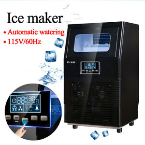 New 38kg Intelligent Automatic Lcd Commercial Ice Maker Rapid Ice Cube Machine