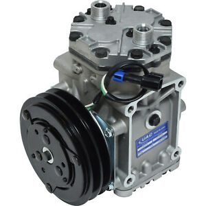 York Freightliner Navistar New A C Ac Compressor With 2 Groove Clutch