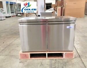 New 48 Commercial Under Counter Freezer 2 Door Model Tuc48f Restaurant Bar Nsf