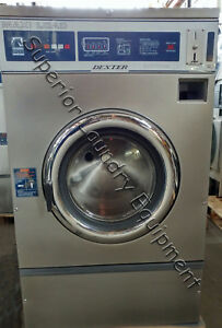Dexter Wcn40aass T600 Washer extractor 40lb Coin 120v Reconditioned