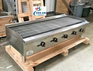 New 60 Commercial Radiant Broiler Char Grill Shawarma Restaurant Cd rb60 Nsf