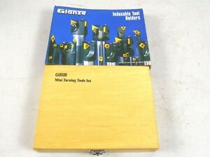 Glanze Mini Turning Tool Set Ccmt Lathe Indexable Tool Holders Lh Rh