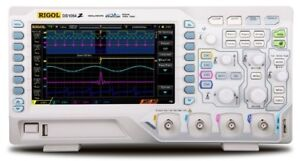 Digital Oscilloscope Analog Bandwidth 50 Mhz 4 Channels Benchtop Full Visibility