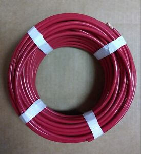 Thhn Red Stranted Wire 6 Awg 93 Ft