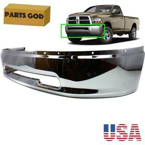 Fits 2009 2012 Dodge Ram Chrome Front Bumper Cover Replacement 1500 2500 3500