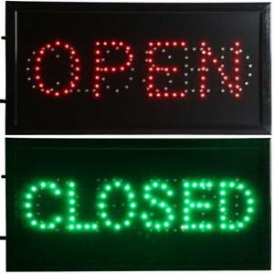 Chenxi Open Closed 2 In 1 Led Sign Store Neon Business Bar Shop Closed Light O