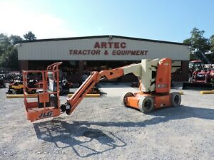 2008 Jlg E300aj Articulating Boom Lift Non Marking Tires Very Low Hours