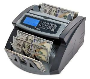 Money Counter Currency Machine Counterfeit Bill Detection Cash Automatic Count