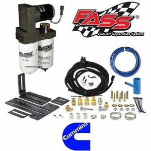 Fass Titanium Fuel Pump System 165gph For 98 5 04 Dodge Ram Cummins T D08 165g