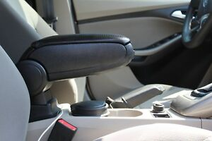 2013 2019 Fiat 500l Black Leatherette Armrest Console Easy Installation As 1 2 3