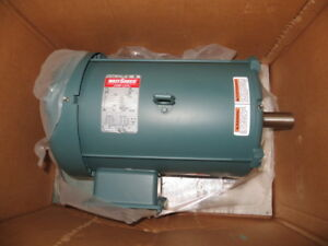 Leeson 140450 00 Electric Motor 7 1 2 Hp 208 230 460 Volts 1765 Rpm 213t New