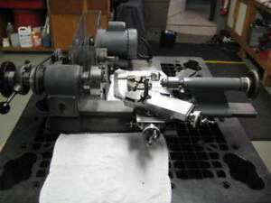 Precision Bench Top Lathe Hardinge Compound Cross Slide Model Dsc 3