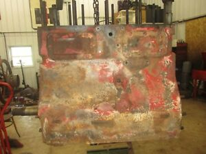 Ih Farmall 400 Md Diesel C264 Engine Short Block Antique Tractor
