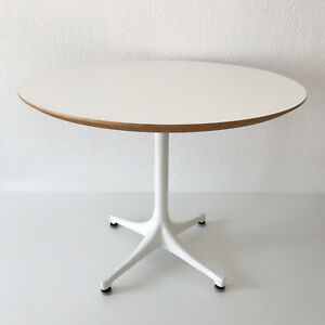 Mid Century Modern George Nelson Pedestal Coffee Table By Herman Miller 1960s