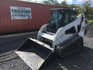 2006 Bobcat T190 Skid Steer Loader With Cab