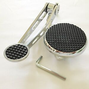 Round Hot Rod Gas And Brake Pedal Combo